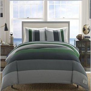 New Nautica twin comforter set